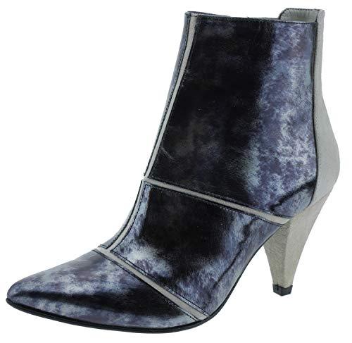 Heine 69191 Ankle Boots Taupe metallic grau, Groesse:43.0