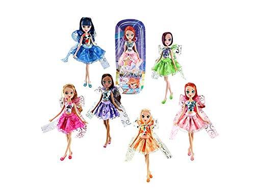 Giochi Preziosi Winx Magic Ribbon Asst.6 Bambole, Multicolore, 8056379083672
