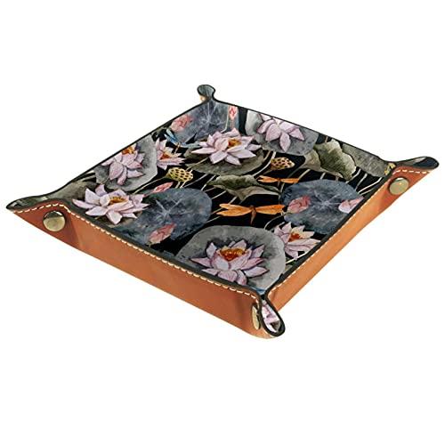 Caja de almacenamiento de Lotus para monedero dominante joyería de teléfono cartera
