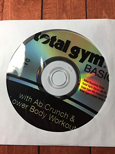 Total Gym Basic DVD with Ab Crunch & Lower Body Workout