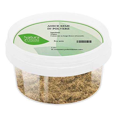 NATURA D'ORIENTE Anice semi in polvere 150g | Qualità 100% |