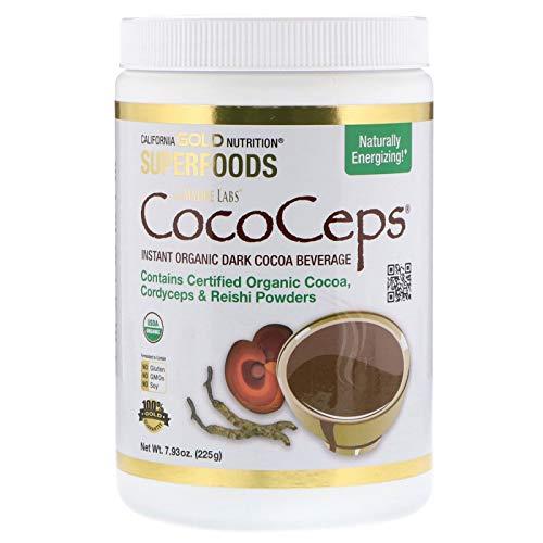 CocoCeps Biologische Cocoa Poeder Cordyceps & Reishi 225 Grams