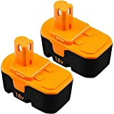 [Upgraded 4.5Ah] 2Pack P100 Replacement for Ryobi 18V Battery Ni-Mh One+ Plus P100 P101 ABP1801 ABP1803 BPP1820 1322401 1400672 13022 1323303 130255004 130224007 130224028 130224054