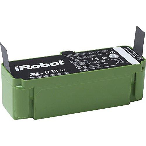 iRobot Batteria agli Ioni di Litio Parti Originali, Compatibile con Roomba Serie 68X/69X/89X/900, 48 W, Verde