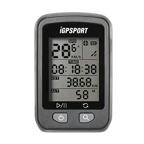 puissant Ordinateur de vélo sans fil IGPSPORT iGS20E Ordinateur de vélo GPS