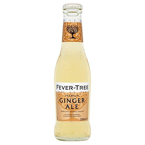 Fever-Tree Premium Ginger Ale 200ml (Packung mit 24 x 200 ml)
