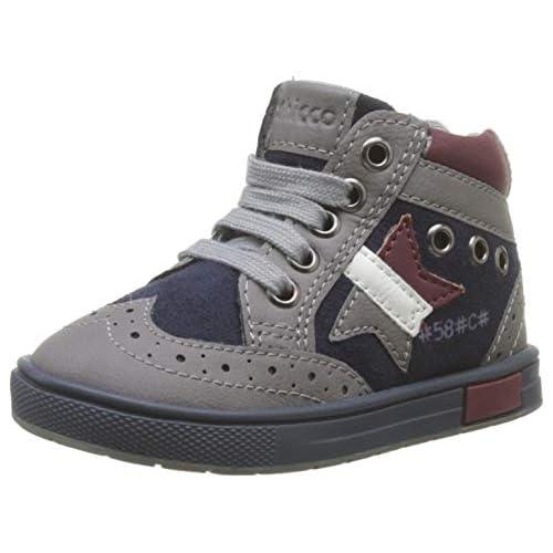 Chicco Polacchino Cico, Sneaker Bambino, Grigio (Grigio 950), 20 EU