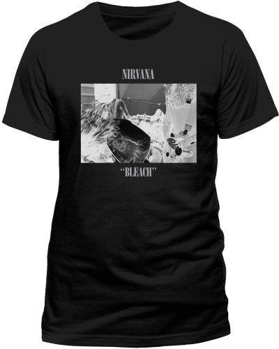 Live Nation - T-shirt Homme Nirvana - Bleach - Noir (Black) - Medium