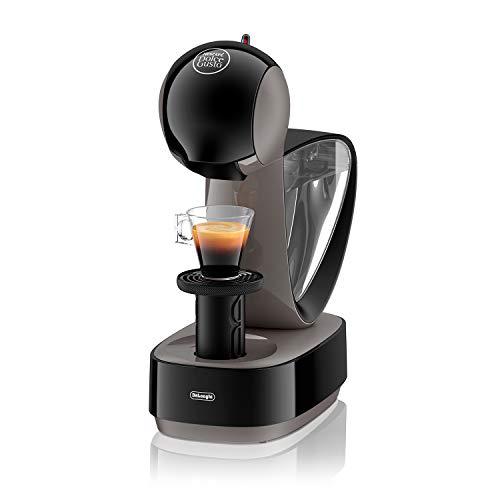 DeLonghi Nescafé Dolce Gusto Infinissima Pod Capsule Coffee Machine, Espresso, Cappuccino and more,1.2 Liters, EDG260.G, Black & Charcoal