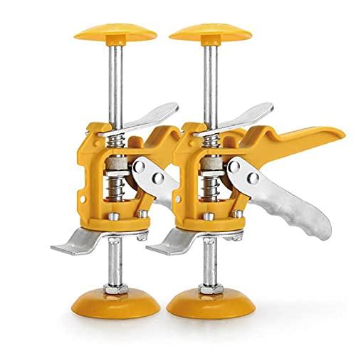 SJASD Elevadores De Azulejos De Cerámica Pared Nivelacion Sistema Baldosas Cerámica,2 PCS Ajustador de Altura de Azulejo para Pisos de Baldosas Puertas