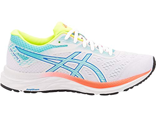 ASICS Women's Gel-Excite 6 SP Running Shoes, 7.5M, White/ICE Mint