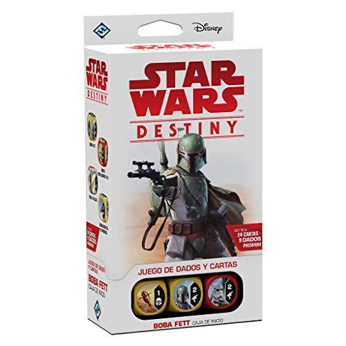 Fantasy Flight Games- Star Wars Destiny: Caja de Inicio: Boba Fett - Español, Color (FFSWD09)