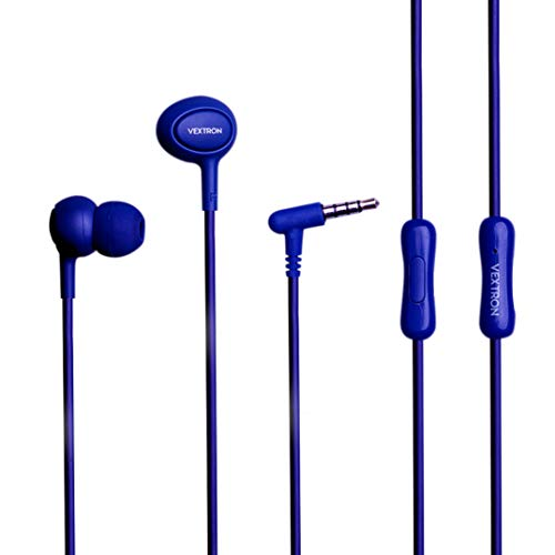 e2e66adce34 VEXTRON Fuel Wired in-Ear Earphones (Blue)