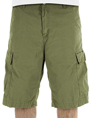 Carhartt WIP Herren Cargo Columbia Ripstop Shorts, Oliv, 28 EU