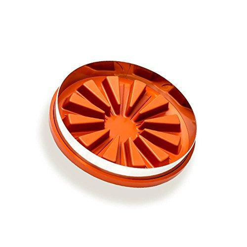 Runde Zila Tortenform für 12 Stücke, Silikon Backform 25cm Durchmesser
