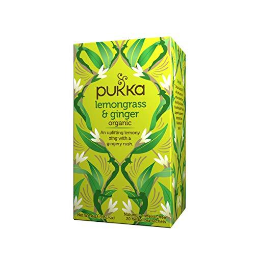 pukka(パッカ) レモングラス&ジンジャー有機ハーブティー 20包