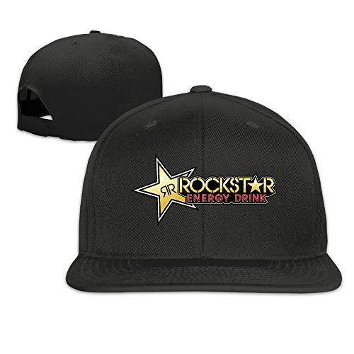 LIU888888 Cool Rockstar Adjustable Baseball Cap (8 Colors) Black,Sombreros y Gorras