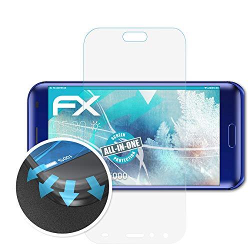 atFolix Schutzfolie kompatibel mit DOOGEE BL5000 Folie, ultraklare & Flexible FX Bildschirmschutzfolie (3X)