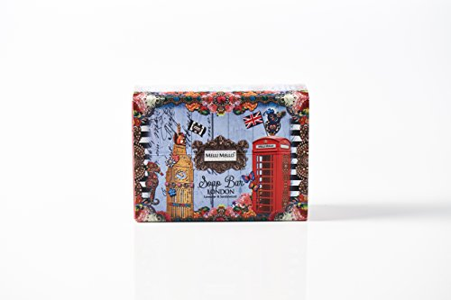 Melli Mello - Soap Bar London - Seife / Handseife (1x 200g)