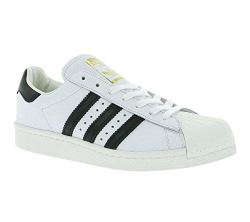 adidas Originals Herren Superstar Boost Sneakers Schuhe -Weiß