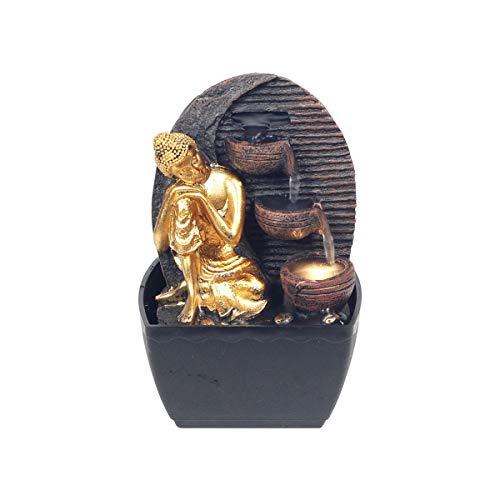 SIGRIS Decor and Go Brunnen Buddha Figur Deko Brunnen Orientalisch DG19080
