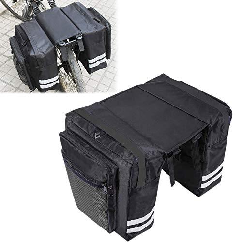 Sunshine smile Fahrradtaschen Gepäckträger,30L Gepäcktaschen für Fahrrad,Doppeltasche Fahrrad Wasserdicht,Fahrradtasche Rücksitz,Tasche Fahrrad,Satteltasche,Radtasche.