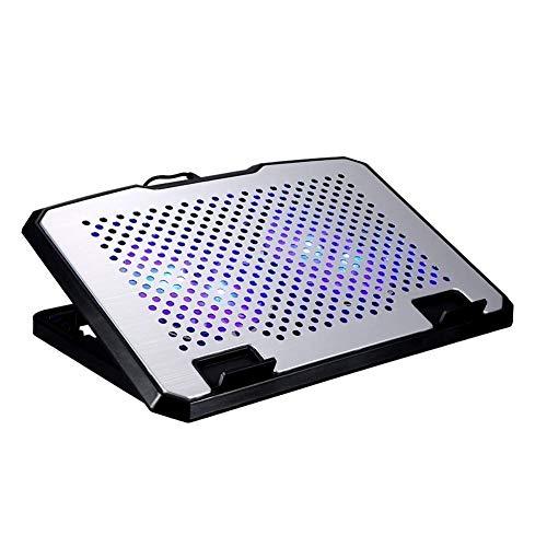 Enfriamiento del Ordenador portátil del cojín y Notebook Cooling Pad 2 Ventiladores 2 Puertos USB refrigerador portátil Se Adapta a 9