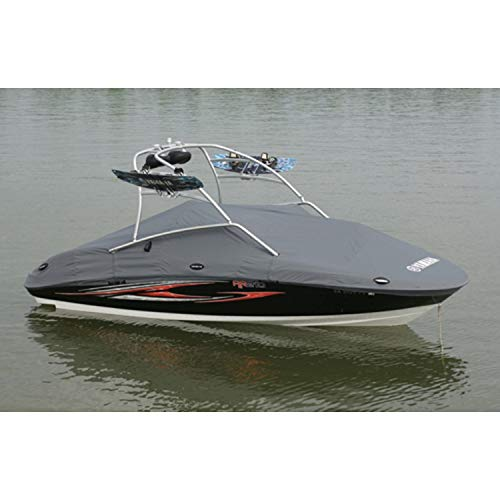 Save %12 Now! Yamaha 230 Series Tower Charcoal Travel Trailering Mooring Storage Boat Cover