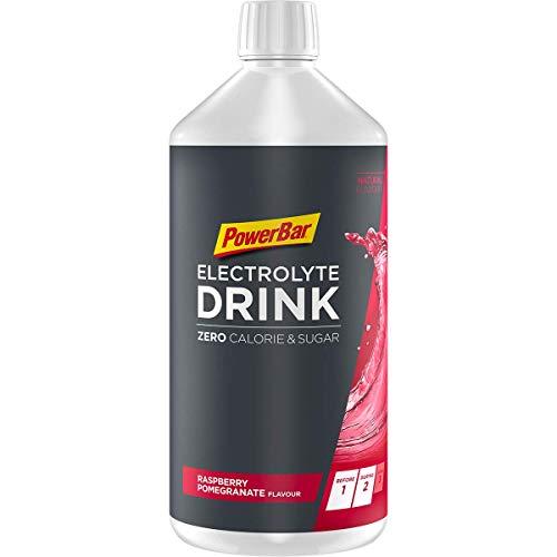 Powerbar Elektrolyte Drink Raspberry Pomegranate 1000ml - Isotonisches Sportgetränk - 5 Elektrolyte + C2MAX