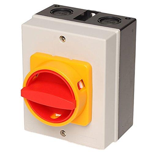 Hauptschalter, Not-Aus-Schalter bis 11kW 32A, Nr. 4500.0240