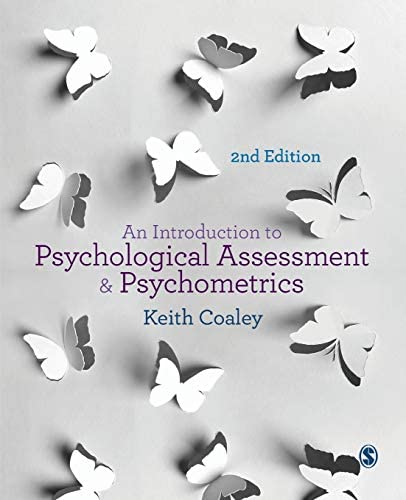 An Introduction to Psychological Assessment and Psychometrics product image