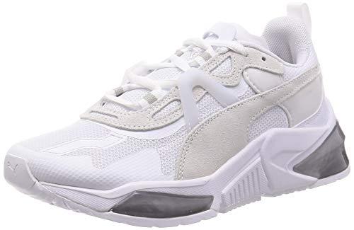 PUMA LQDCELL Optic Pax WN'S, Zapatillas de Gimnasio Mujer, Blanco White/Metallic Silver, 37 EU