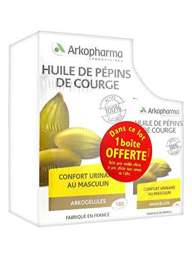 Arkopharma - Huile De Pepins De Courge 180 Capsules Arkopharma Arkogelules
