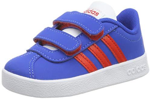 Detalles de Adidas Core Niños Zapatillas Vl Court 2.0k Azul