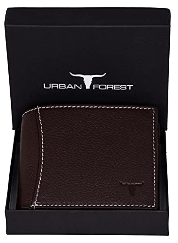 URBAN FOREST Leather Men's Wallet (UBF130CHC1033_Brown)