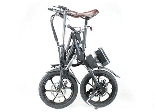Bicicleta eléctrica plegable® KwiKfold marchas Shimano