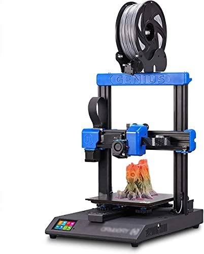 RSBCSHI 3D Printer, 95% Preassemble Metal 3D Printer With Patented Heatbed Resume Printing Function Touchscreen Silent Mainboards Support PLA, ABS, TPU Print Size 220×220×250Mm
