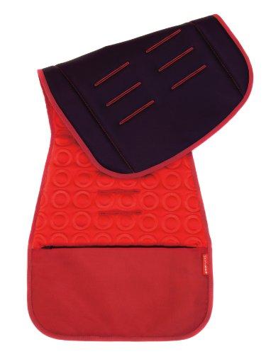 Skip Hop 400500 - Funda de asiento para cochecito de bebé, color rojo