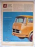 Antigua Hoja Publicidad Revista - Advertising Magazine Old Sheet : MERCEDES BENZ. Año 1959