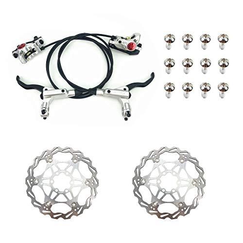 Am Zoom Juego de frenos de disco hidráulicos para bicicleta de montaña...