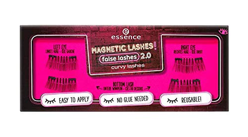 Essence Magnetic Lashes! false lashes 2.0 curvy lashes Nr. 01 I am not perfet, but my lashes are = 1 Set