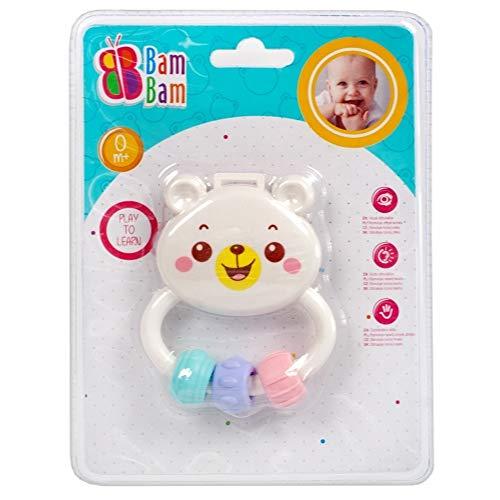 Bam Hochet pour bébé Ours de la Marque