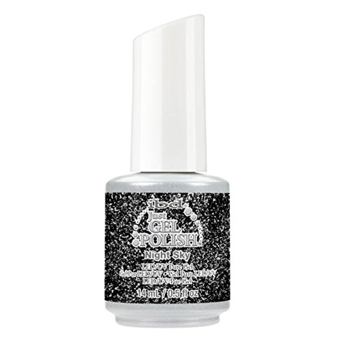 しっかり調子日焼けibd Just Gel Polish - Diamonds+Dreams Collection - Night Sky - 14 mL / 0.5 oz