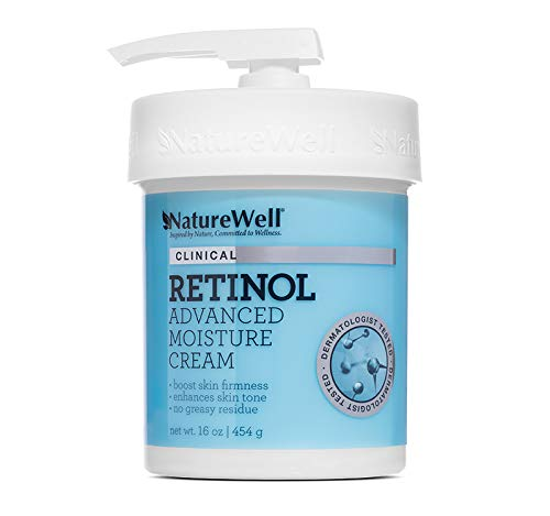 NATURE WELL Clinical Retinol Advanced Moisture Care Cream, 16. oz.