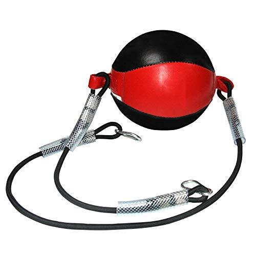 FU LIAN Double End Ball mit Pumpe, Boxing Speed Ball mit elastischem Seil, professionelles Training, Dekompressionsentlüftung, Reaktions- und Hand-Augen-Training