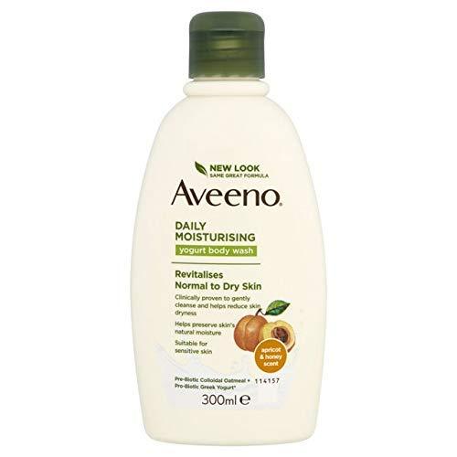 Aveeno Bagno Doccia Yogurt Albicocca & Miele - 330 gr