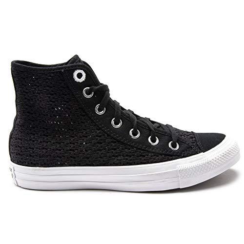 Converse All Star Hi Getaway - Zapatillas deportivas para mujer, color negro, (negro), 38 EU