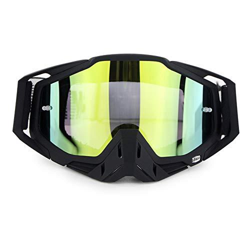 Moto d'hiver Lunettes de Ski de Snowboard sur des Lunettes CS Shooting Lunettes de Protection UV Anti-buée résistant aux Rayures Équitation en Plein air Équipement de Moto,G