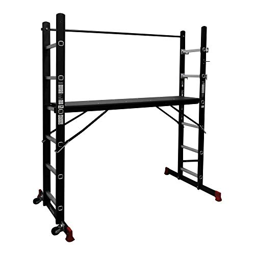 STIER Gerüst-Arbeitsbühne 150 kg DIN EN 131, Mehrzweckleiter, Arbeitsbühne, Arbeitsgerüst