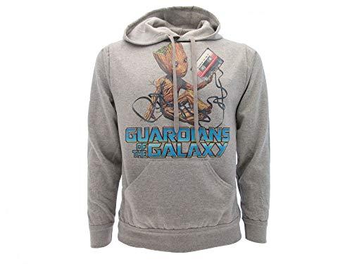 Guardiani della Galassia Felpa Originale Groot Vol. 2 con Cappuccio con cartellino ed Etichetta di originalità (XS (10-14 Anni))